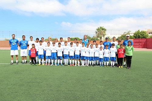 ADEJE-Campamento suma del club deportivo tenerife (1)