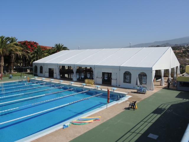 amplio programa de actividades en la piscina municipal de