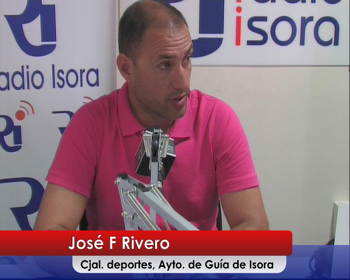 José Fernando Rivero, Concejal de Deportes