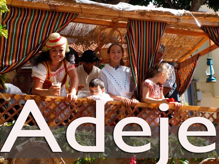 La romería de Adeje congrega a miles de personas