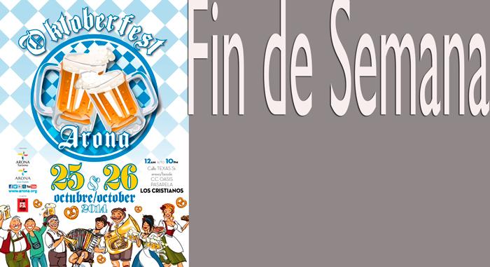 Arona celebra el Oktoberfest este fin de  semana