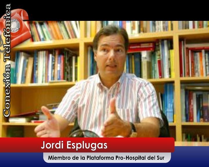 [Vídeo] Jordi Esplugas, no ve serio el que se pretenda trasladar los laboratorios de 'El Mojón' a la capital