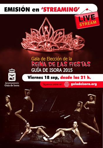 28cef502d0 La gala de elección de la Reina de las Fiestas de Guía de Isora será  transmitida en directo por Internet