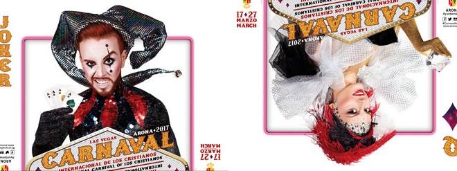 Luis Marrero ha sido renovado por segundo año para diseñar la imagen del carnaval, después de la buena acogida que tuvo el diseño de la pasada edición