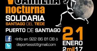 El recorrido urbano por el casco urbano de Puerto de Santiago y Los Gigantes  constará de 7,5 km para la categoría masculina y de 6,5 km para la categoría femenina.