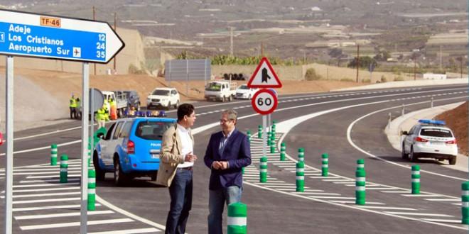 El alcalde isorano agradeció la gestión llevada a cabo por el equipo de la Consejería de Obras Públicas y por la hasta ahora consejera regional, Ornella Chacón