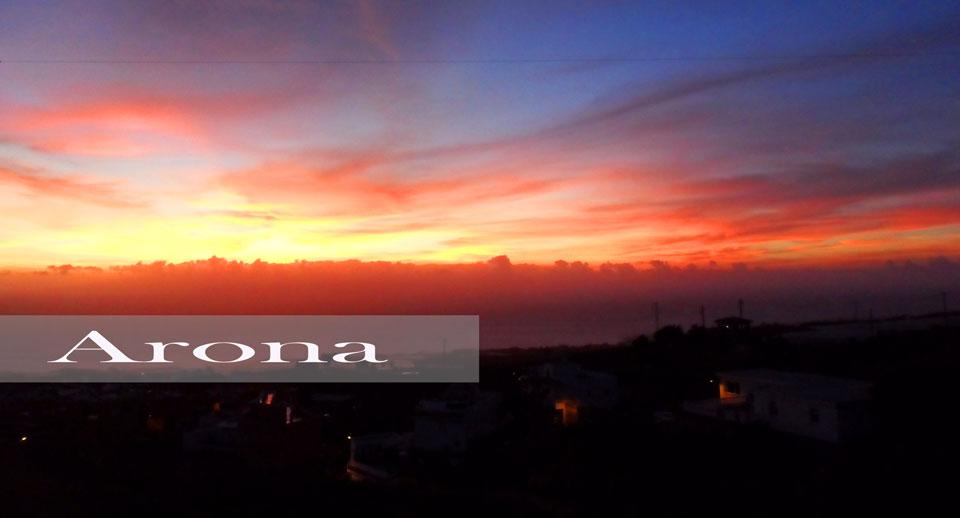 Puesta-de-sol-en-el-Sur-de-Tenerife,-Arona-EDIT