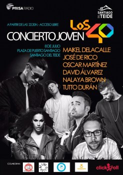 Cartel-del-Concierto-Joven-Los40-de-Santiago-del-Teide