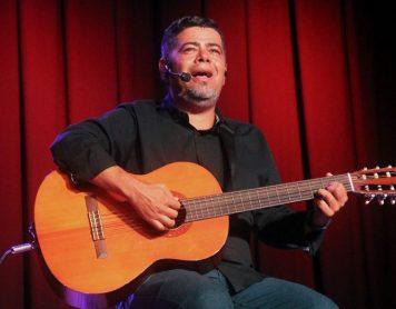 Juan Madrigal, narrador Costarricense que participará en la IV Fiesta de la Palabra de Santiago del Teide